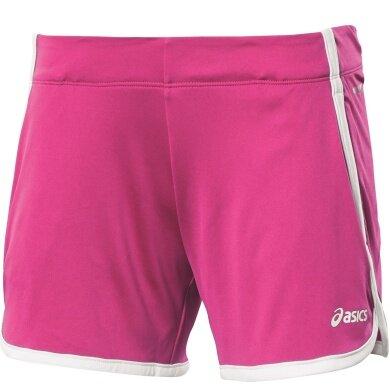 Asics Short Knit pink Damen