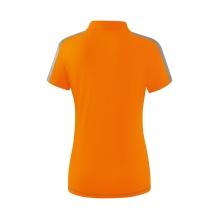 Erima Polo Squad 2020 orange/grau Damen