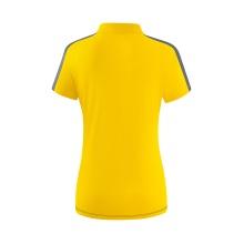 Erima Polo Squad 2020 gelb/schwarz/grau Damen