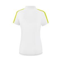 Erima Polo Squad 2020 weiß/grau/lime Damen
