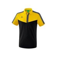 Erima Polo Squad 2020 gelb/schwarz/grau Herren