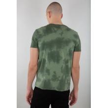 Alpha Industries Tshirt Basic (Baumwolle) Batik olive Herren