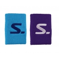 Salming Schweissband Short blau/purple 2er