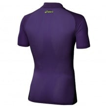 Asics Polo Resolution 2014 purple Herren