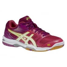 Asics Gel Rocket 7 2014 magenta Indoorschuhe Damen