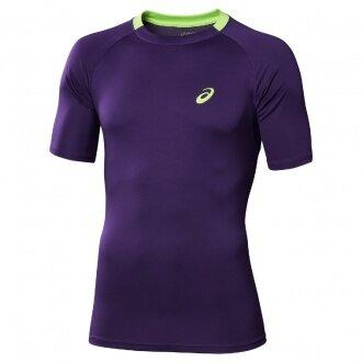 Asics Tshirt Club purple Herren