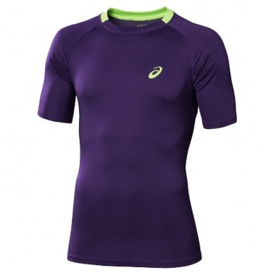 Asics Tshirt Club purple Herren