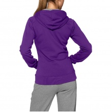 Asics Hoodie Knit Full Zip purple Damen
