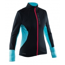 Salming Jacke Thermal Wind 2017 schwarz/türkis Damen