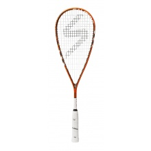 Salming Cannone Feather Aero Vectran 2017 orange/weiss Squashschläger