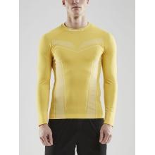 Craft Langarmshirt Pro Control Seamless gelb Herren