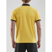Craft Polo Pro Control gelb/schwarz Herren
