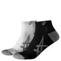 Asics Sportsocke Lightweight weiss/schwarz - 2 Paar