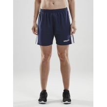 Craft Short Pro Control navy/weiss Damen