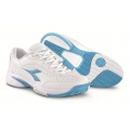 Diadora Star Class II weiss/blau Tennisschuhe Damen