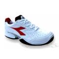 Diadora Speed Shot Clay weiss/rot Tennisschuhe Herren