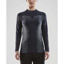 Craft Langarmshirt Pro Control Seamless (nahtlos) Unterwäsche schwarz Damen