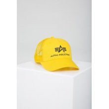 Alpha Industries Basecap Basic Trucker gelb 1er