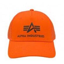 Alpha Industries Basecap Basic Trucker orange 1er