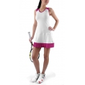 KSwiss Kleid Game Pleat weiss Damen