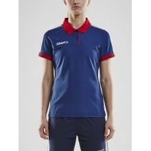 Craft Polo Pro Control navy/rot Damen