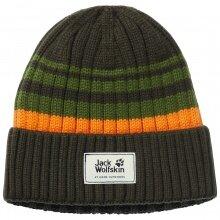 Jack Wolfskin Mütze (Beanie) Knit Cap grün Kinder