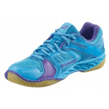 Babolat Shadow Team 2014 blau/purple Badmintonschuhe Damen