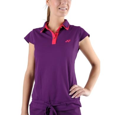 Yonex Polo New York purple Damen