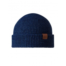 Stöhr Mütze (Beanie) VET blau melange Herren 1er