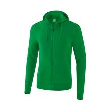 Erima Kapuzensweatjacke Basic Jacke 2020 grün Boys