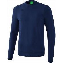 Erima Sweatshirt Basic Pullover navy Herren