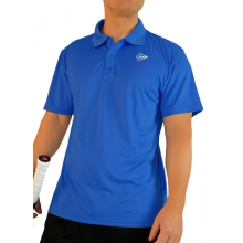 Dunlop Polo Button Club 2013 blau Herren