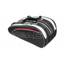 Head Elite Monstercombibag schwarz/weiss 2014