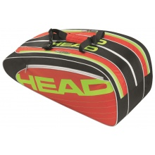 Head Elite Combibag schwarz/rot/lime 2015