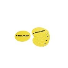 Head Markierungsscheiben gelb (6 Scheiben)