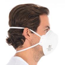 Hygostar FFP2 NR D Mund- und Nasenmaske - Atemschutzmaske mit Ventil - 10er Box