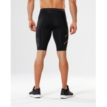 2XU Elite MCS Compression Short 2018 schwarz/gold Herren