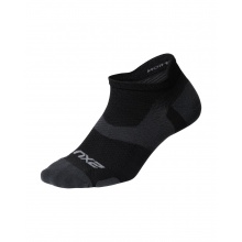 2XU Laufsocke Vectr Light Cushion No Show schwarz Herren 1er