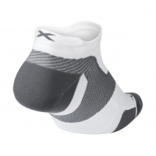 2XU Laufsocke Vectr Light Cushion No Show weiss/grau Herren 1er