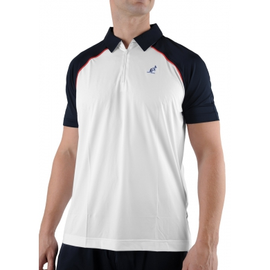 Australian Polo Basic 2013 weiß/navy Herren