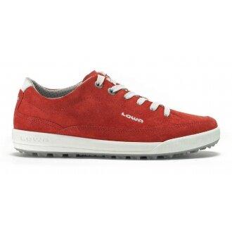 Lowa Palermo rot Sneaker Damen