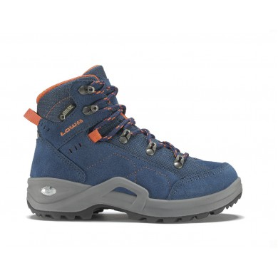 Lowa Kody III GTX MID blau/orange Outdoorschuhe Kinder