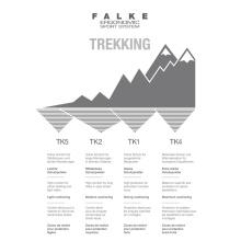 Falke Trekkingsocke TK2 Wool grau 1er Herren