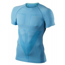 Falke Shirt Shortsleeve Athletic hellblau Herren