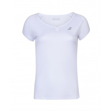 Babolat Shirt Play Club Cap Sleeve 2020 weiss Girls