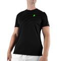 Prince Tshirt Graphic Crew schwarz Herren (Größe L)