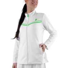 Prince Zip-Jacket Pro Team 2013 weiss Damen