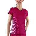 Prince V-Shirt Pro Team 2013 berry Damen (Größe M)