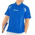 Babolat Polo Club 2012 blau Herren (Größe S+M)