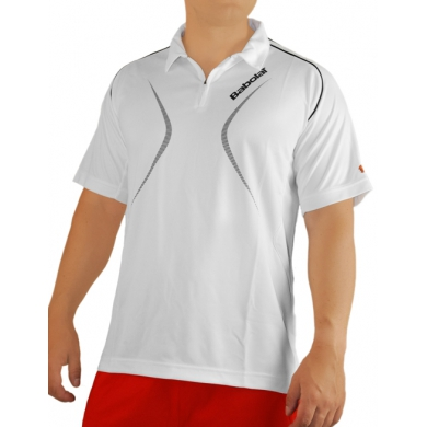 Babolat Polo Club 2013 weiss Herren
